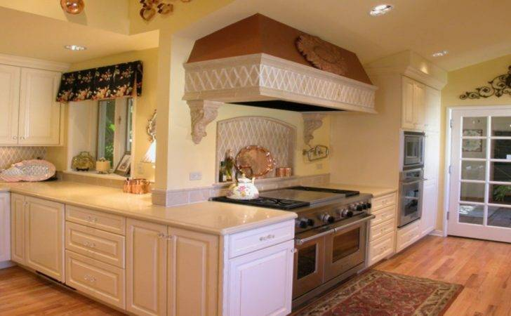 Small Kitchen Cooking Area Interior Design French Country