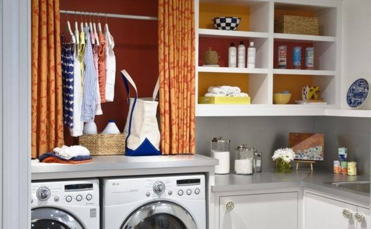 Small Laundry Room Design Ideas Comfortable