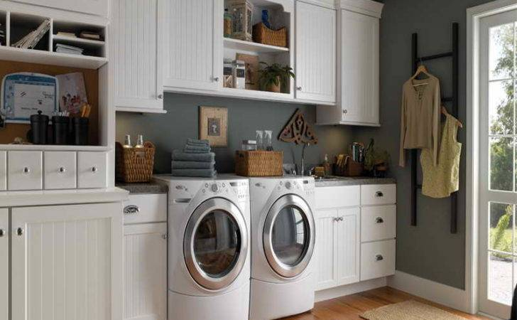 Small Laundry Room Ideas Wooden Floor Home Interior