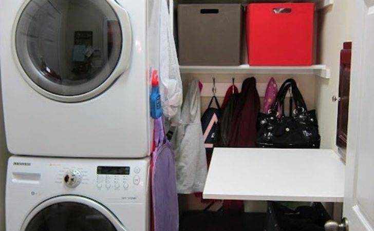 Small Laundry Room Organizer Space Solutions