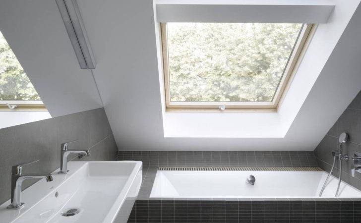 Small Loft Apartment Attic Bathroom Ideas