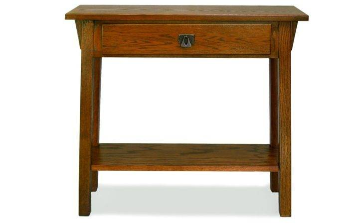 Small Space Console Table Leick Mission Hall
