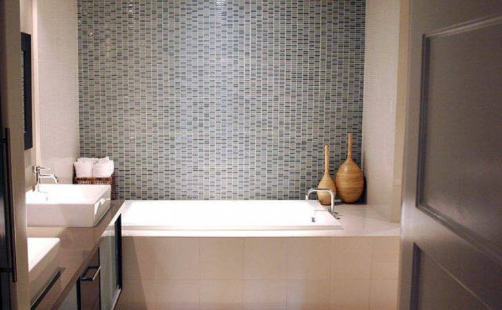 Small Space Modern Bathroom Tile Design Ideas
