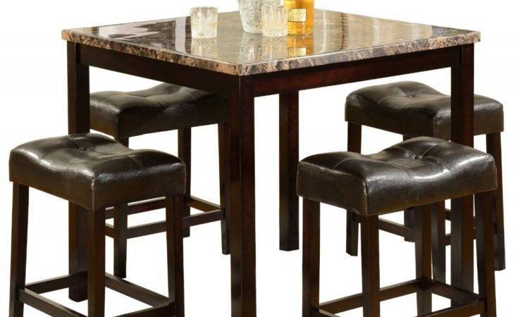 Small Square Dining Table Marble Top Space