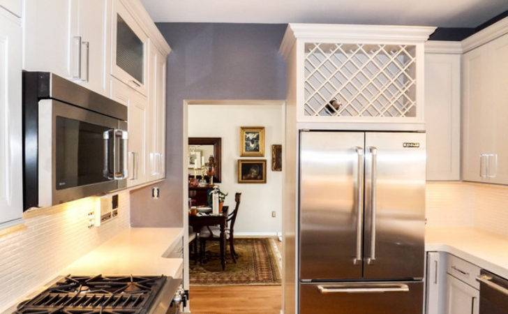 Small Townhouse Kitchen Traditional Other