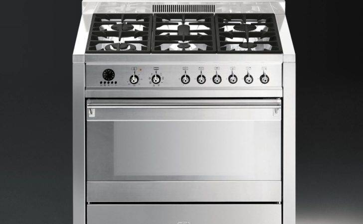 Smeg Opera Dual Fuel Range Cooker Stainless