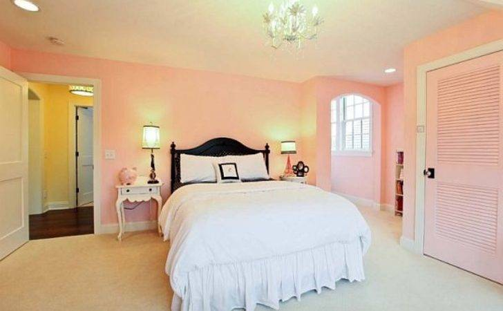 Soft Pink Bedroom Ideas Young Women Home Improvement