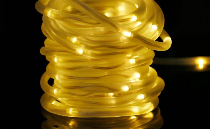 Solar Rope Light Leds Warm White String