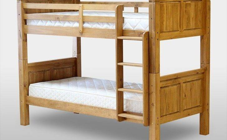Solid Oak Bunk Beds Wall Decal