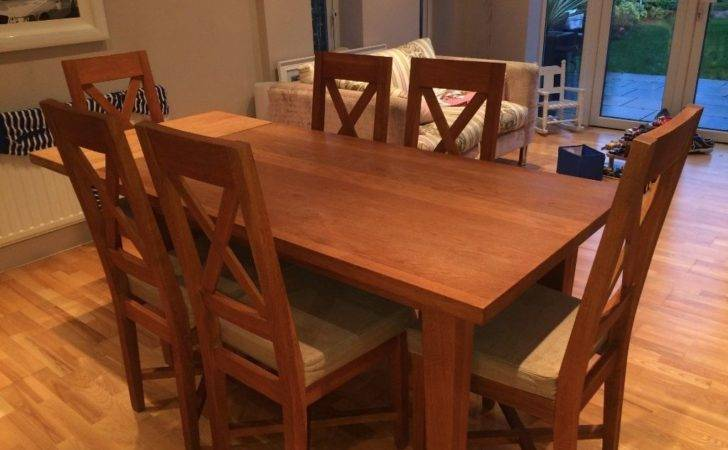 Solid Oak Christian Harold Ardennes Seater Dining Table