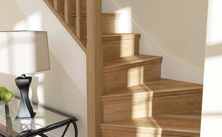 Solid Oak Stair Cladding Convert Your Staircase Step Ebay