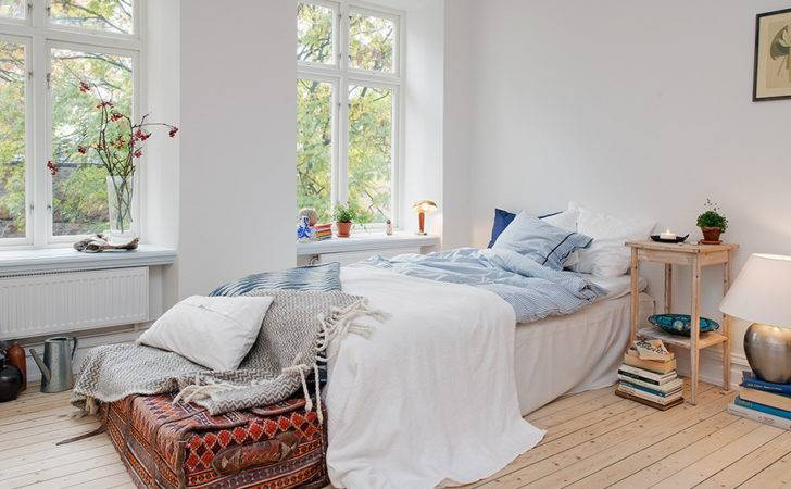Soothing Ambience Inspired Small One Room Apartment
