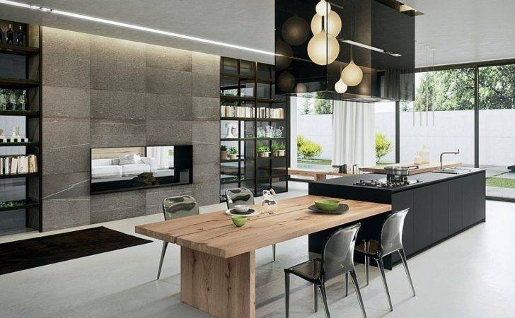 Sophisticated Contemporary Kitchens Cutting Edge Design