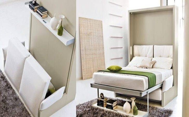 Space Saving Bed Small Homes