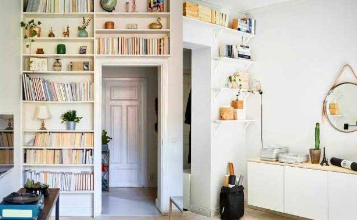 Space Saving Ideas Storage Shelving Living Room