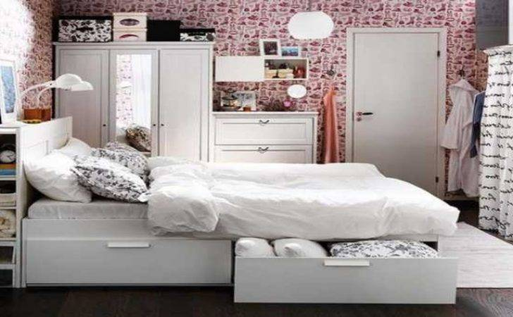 Space Saving Small Bedrooms Storage