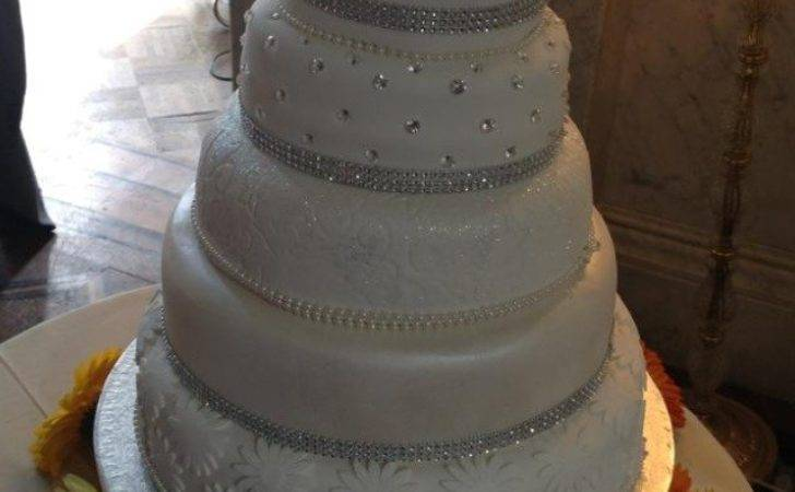 Sparkles Wedding Cake Great British Bake Off
