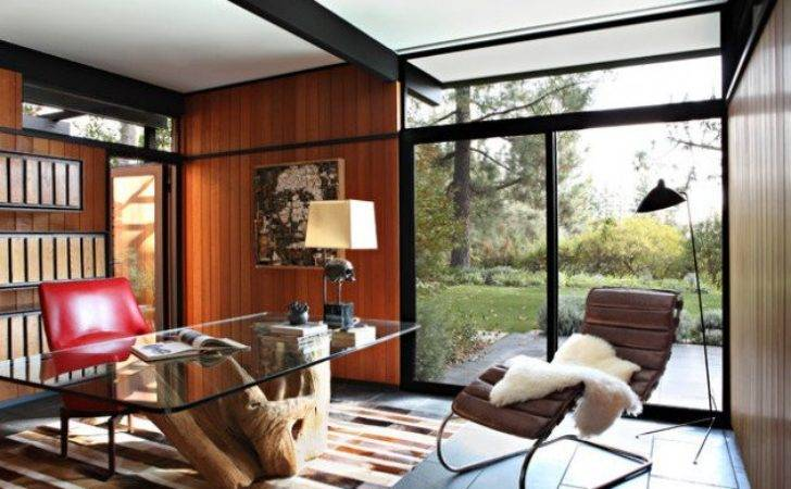 Spectacular Mid Century Modern Home Office Designs