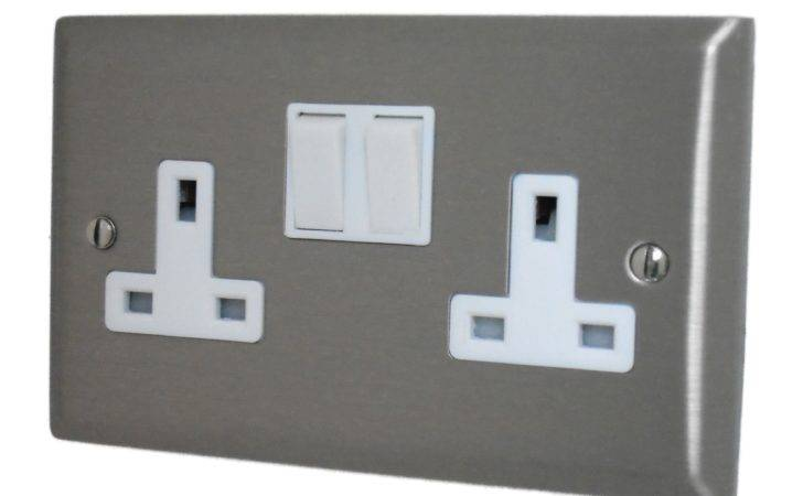 Spectrum Brushed Stainless Steel Sssw Light Switches Plug