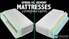 Spring Mattress Foam Comparison Sleepedia