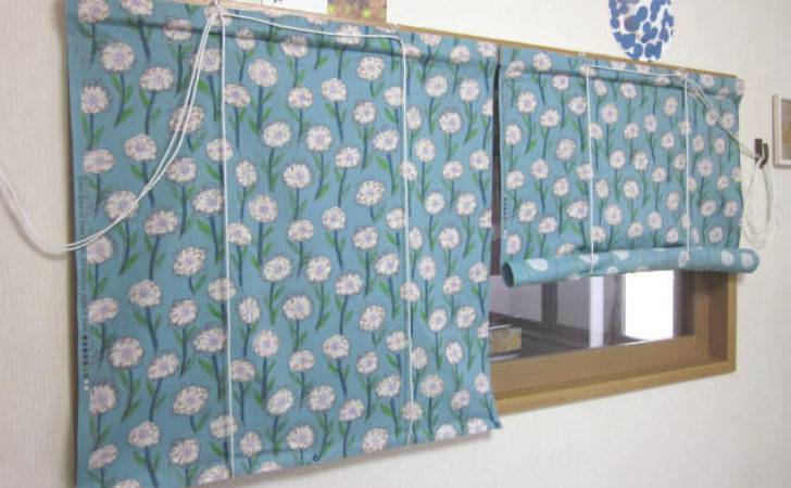 Spring Roll Curtains Sewing Projects Burdastyle