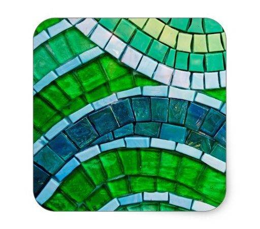 Square Tiles Stickers