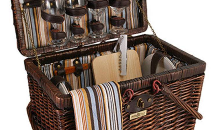 Squaw Willow Person Picnic Basket Traditional