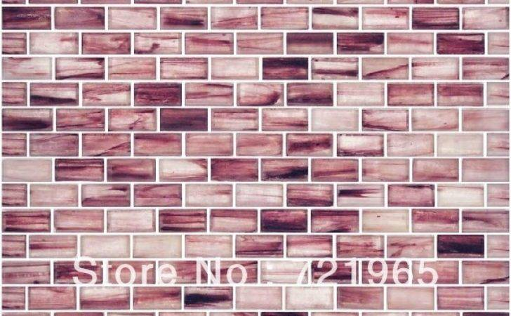 Stained Glass Mosaic Kitchen Backsplash Tile Igmt Brick