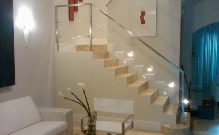 Stainless Steel Acrylic Stair Rail