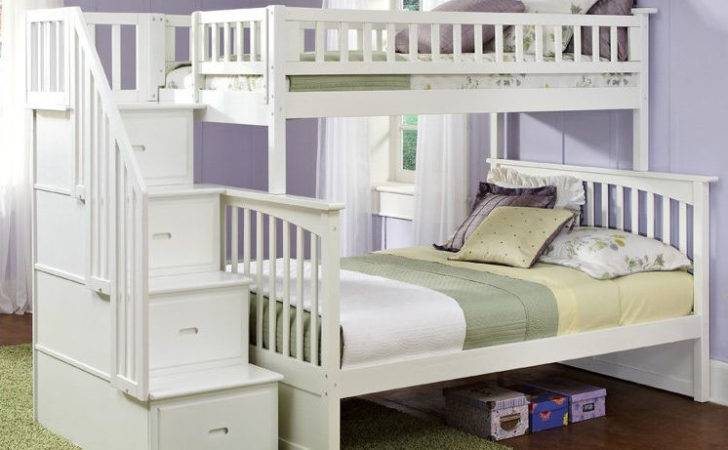 Staircase Bunk Bed Stairs Twin Over Storage