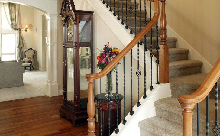Staircase Cost Build Railings Handrails