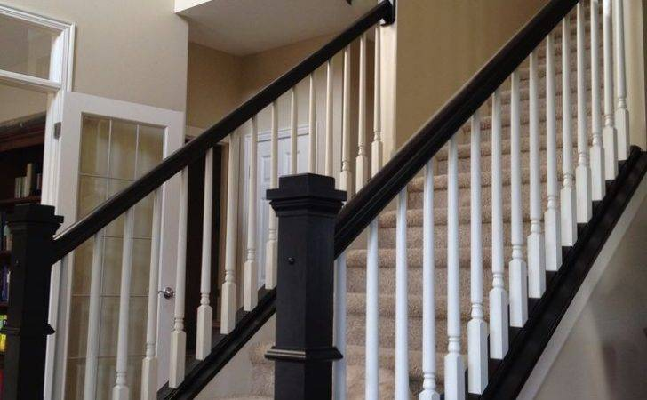 Stairs Stair Makeover White Railing Adastra
