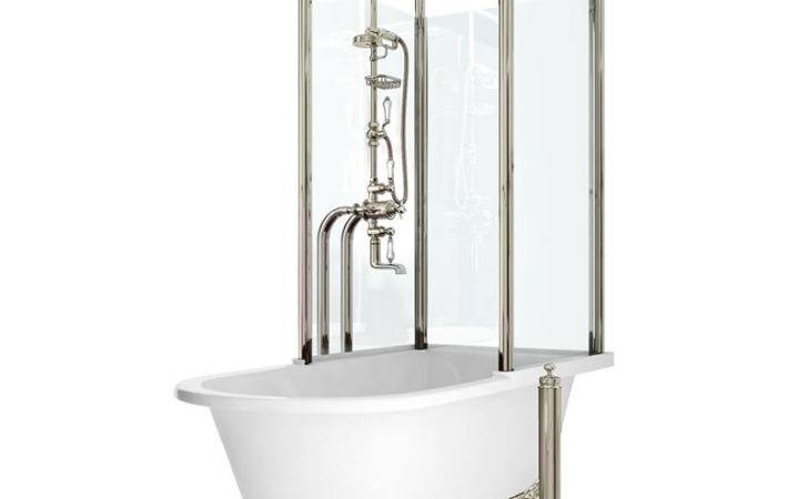 Standing Bath Shower Stainless