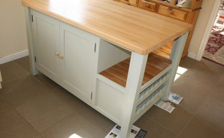 Standing Kitchen Island Small Cabinets
