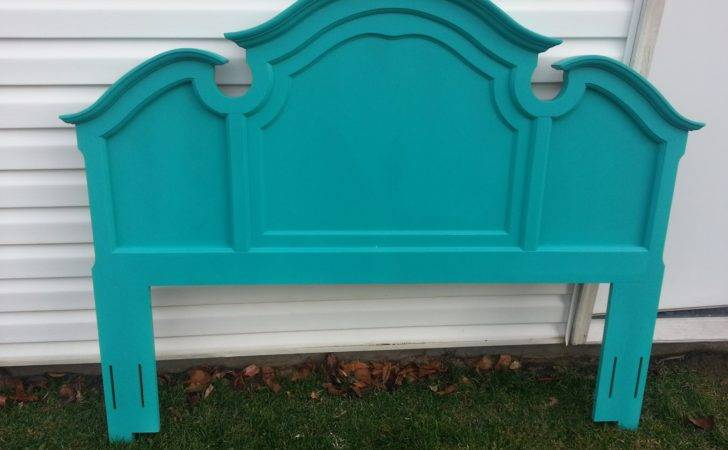 Start Home Turquoise Headboard Just Time
