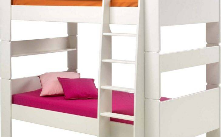 Steens Kids Bunk Bed White Bedroom Furniture Direct
