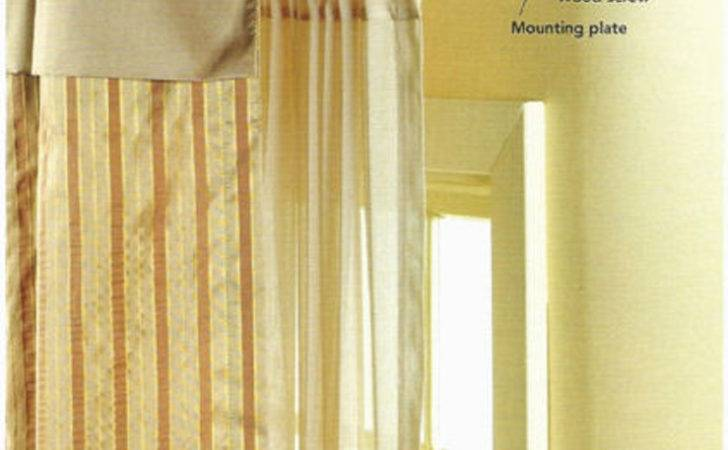 Steps Hanging Curtains Project Ehowdiy