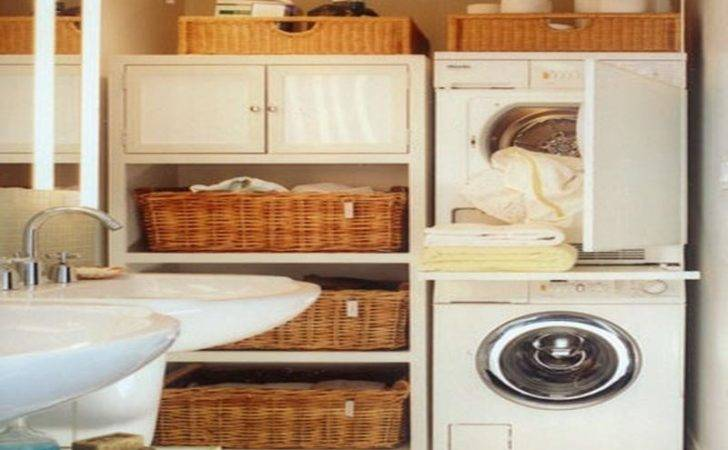 Storage Laundry Small Space