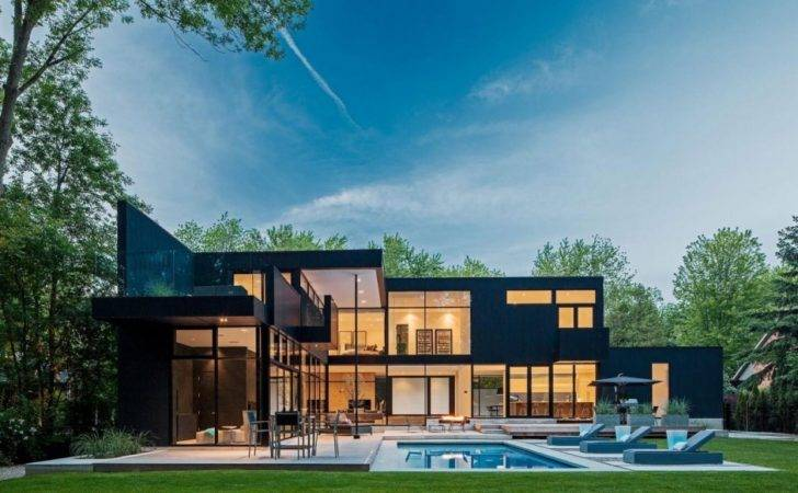 Storey Modern Home Ontario Canada Most Beautiful