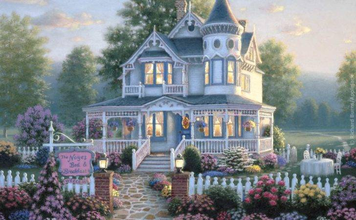 Story Victorian House Tower Wrap Around Pourch