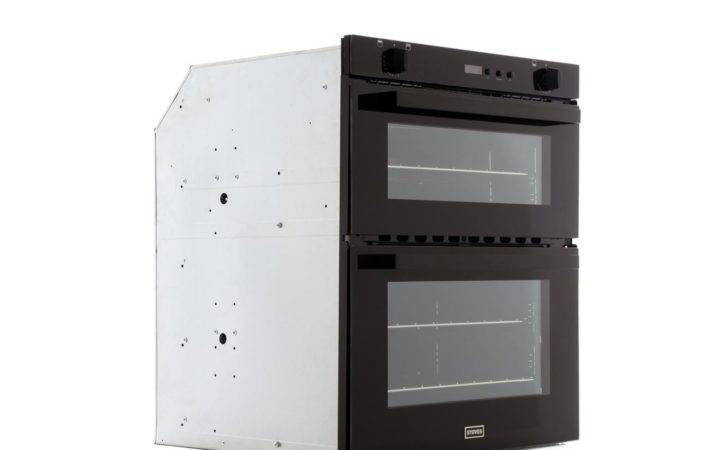 Stoves Sgb Black Double Built Under Gas Oven