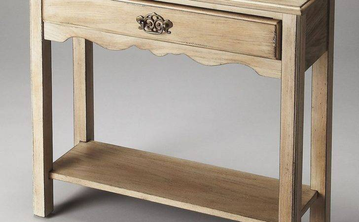 Stratford Plantation Cherry Cottage White Console Table