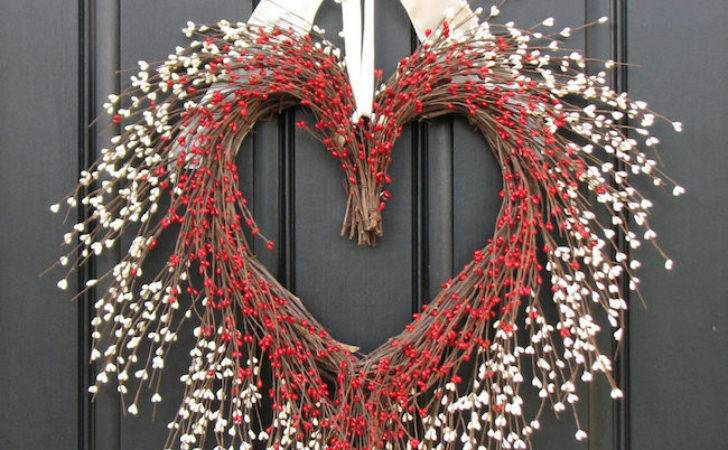 Striking Wreath Ideas Valentine Day