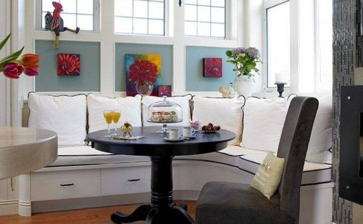 Stunning Breakfast Nook Furniture Ideas