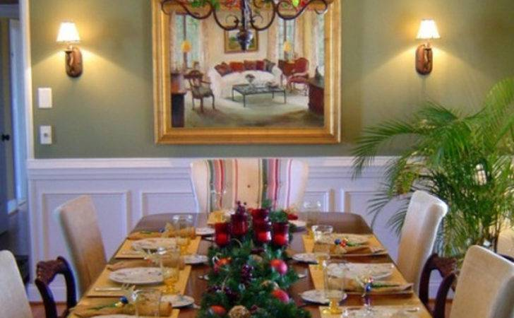 Stunning Christmas Dining Room Decoration Ideas