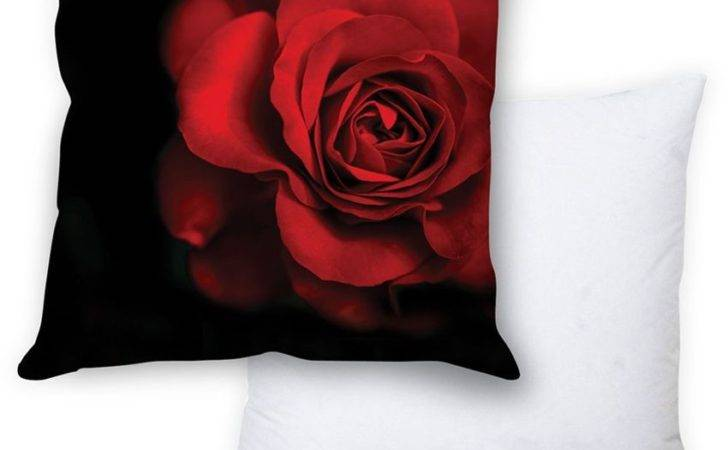 Stybuzz Red Rose Cushion Cover Filler Buy