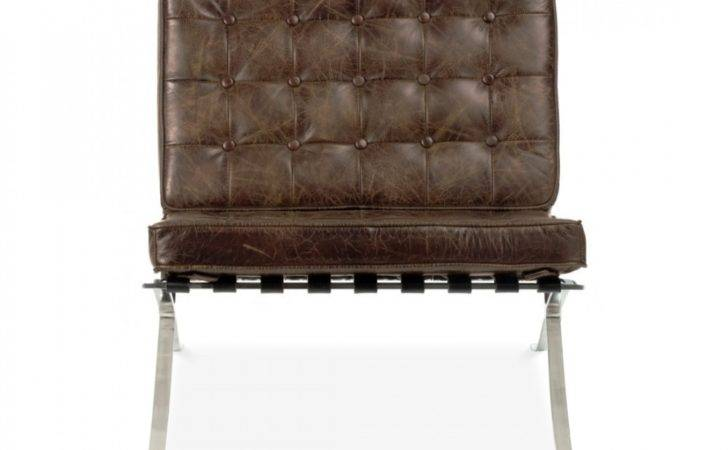 Style Vintage Brown Barcelona Chair Cult