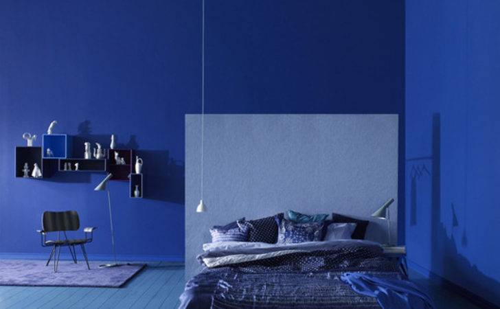 Stylish Blue Color Schemes Bedrooms Interiorholic
