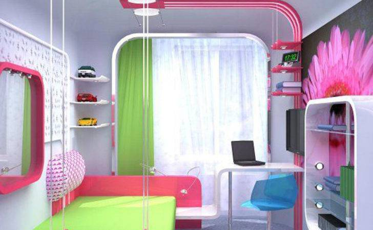 Stylish Colorful Bedrooms Girls Allarchitecturedesigns