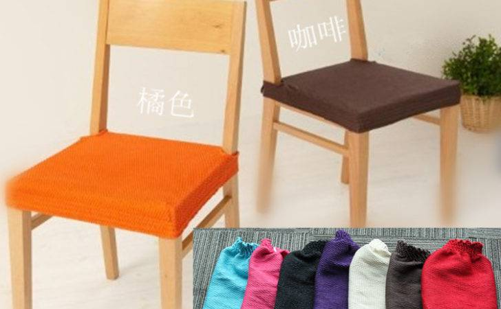 Stylish Dining Room Chair Seat Cushion Covers